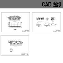 三孔拱桥施工图