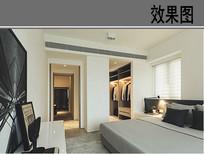 现代通用装修主卧室