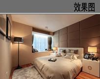 现代装修卧室