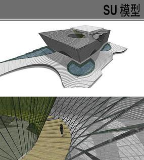 西安音乐学院音乐厅建筑设计