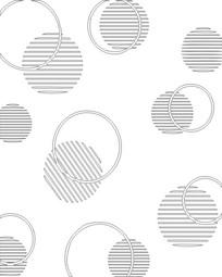圆形线条雕刻图案