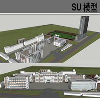 中学SU skp