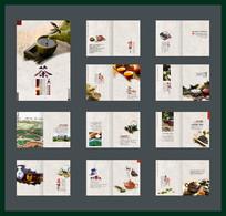 茶文化画册设计