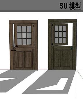 窗门结合模型