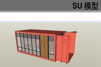 单体集装屋子模型