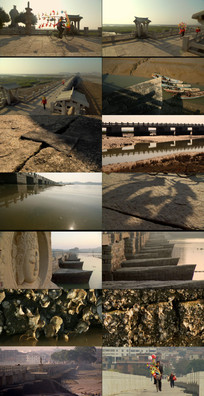 福建泉州建筑风貌动态视频