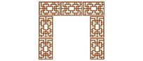 古建门框镂空样式
