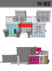 集装箱改造别墅住宅楼