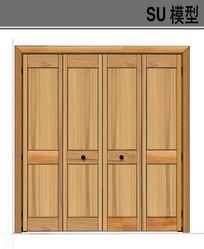 木质门模型