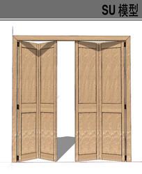 浅色木质门