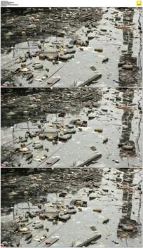 水污染实拍视频素材 mov