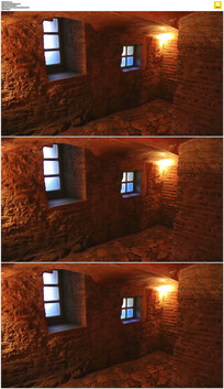 窑洞室内实拍视频素材
