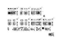 古典酒店美容院全套施工图
