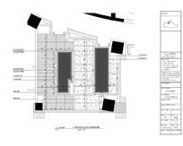 古典酒店缺角正方卫生间地材图