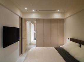 简约木质卧室