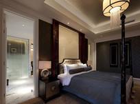 酒店古典室内效果图