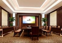 酒店会议室室内效果图