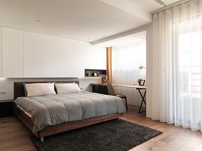 开放式设计卧室