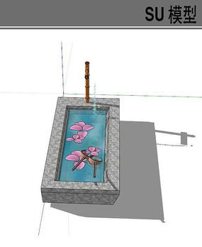 日式小水池
