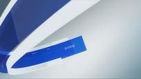 条形电视包装模板时尚现代科技视频 aep