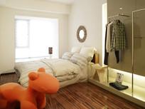 现代风格次卧儿童卧室