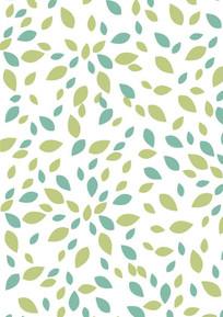叶子背景图案