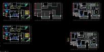 住宅建筑户型平面图
