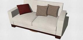 布料双人沙发