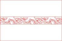 汉代龙纹移门图案