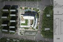 建筑绿化景观俯视效果图 JPG