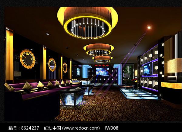 酒店KTV豪包效果图图片