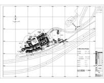 某植物园民俗村规划平面图