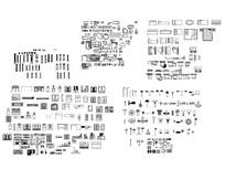 室内CAD图块 dwg