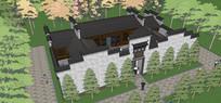 中式传统院落