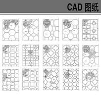 中式铺地图案材料设计