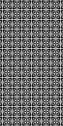 黑白创意纹理图案