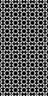 流行黑白纹理图案