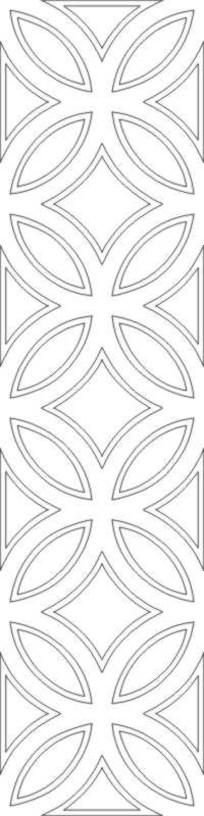 铜钱纹雕刻图案