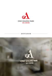A字母企业标志设计