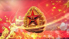 八一听党指挥喜迎国庆视频素材