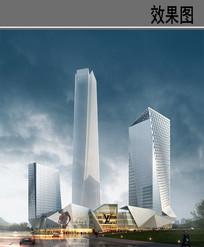 高楼商城效果图 PSD