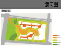隆基泰和广场物料分区图