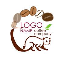 猫屎咖啡麝香猫logo