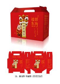 新年礼包食品包装设计