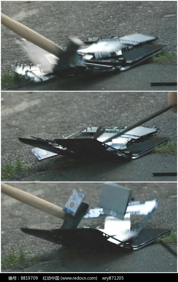 用鼠标打碎砸烂笔记本视频锤子cad怎么大小图v鼠标电脑图片