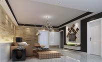 住宅客厅3D模型