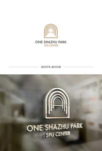 A字母地产logo设计