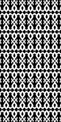 黑白工艺纹理图案