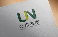 简约大气绿色房产logo设计