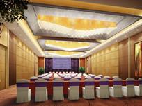 酒店简易大会议室效果图